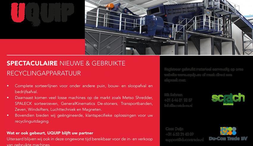 Recyclepro advertentie uquip